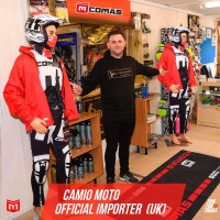 We are super stoked to announce that @camio_moto is the new importer in UK🔥   @isbsport @isbmotor @isbcycling @originalwd40_es @wd40motorsports @m4racingparts @formaboots   #comastrial #timefortrials #moto #motorcycle #ride #skills #wd40 #motosport #mtb #equipment #helmet #accesorios